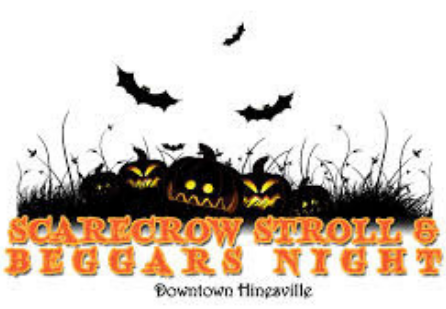 Scarecrow Stroll and Beggars Night 2019 logo