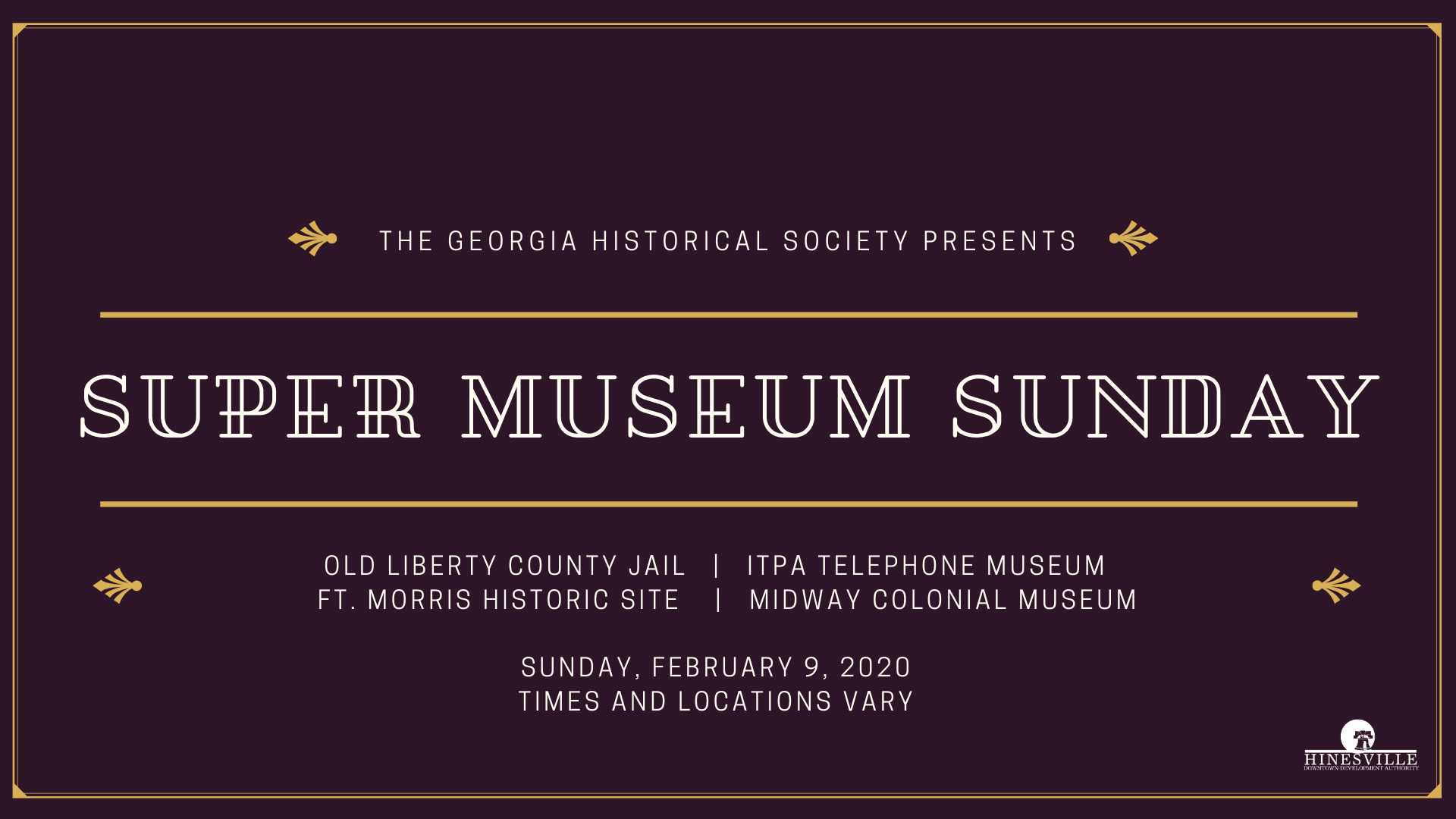 Super Museum Sunday 2020 FB Cover