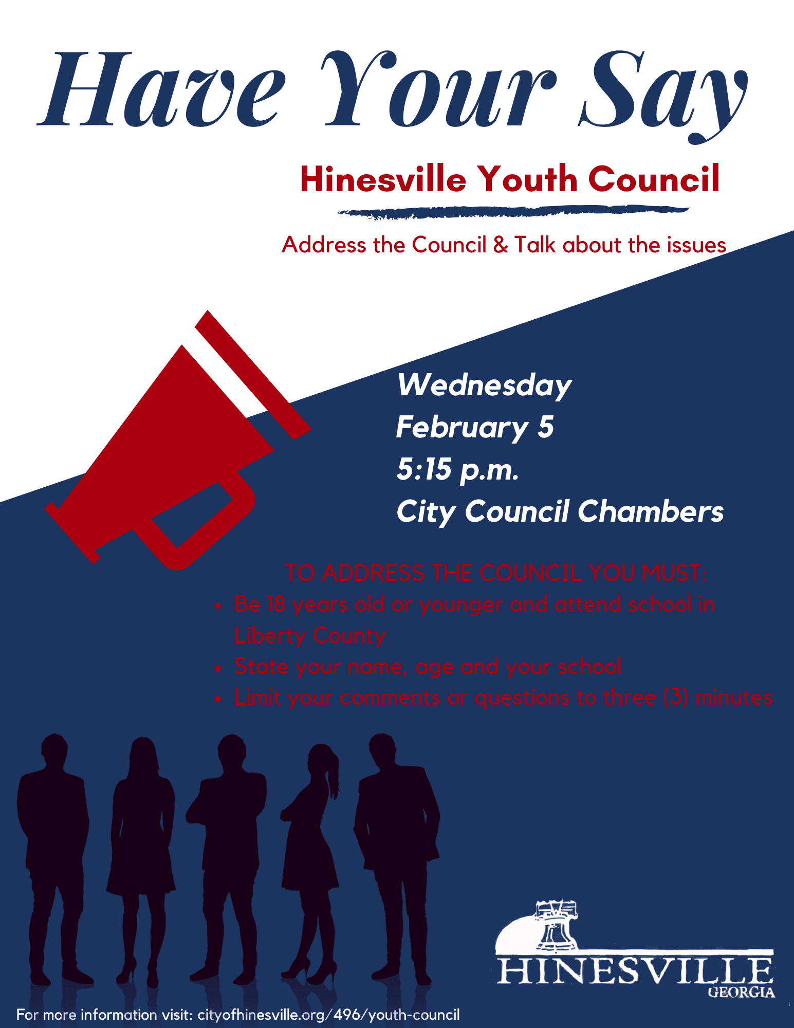 Youth Council Open Meeting Feb 5