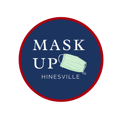Mask Up Hinesville Logo