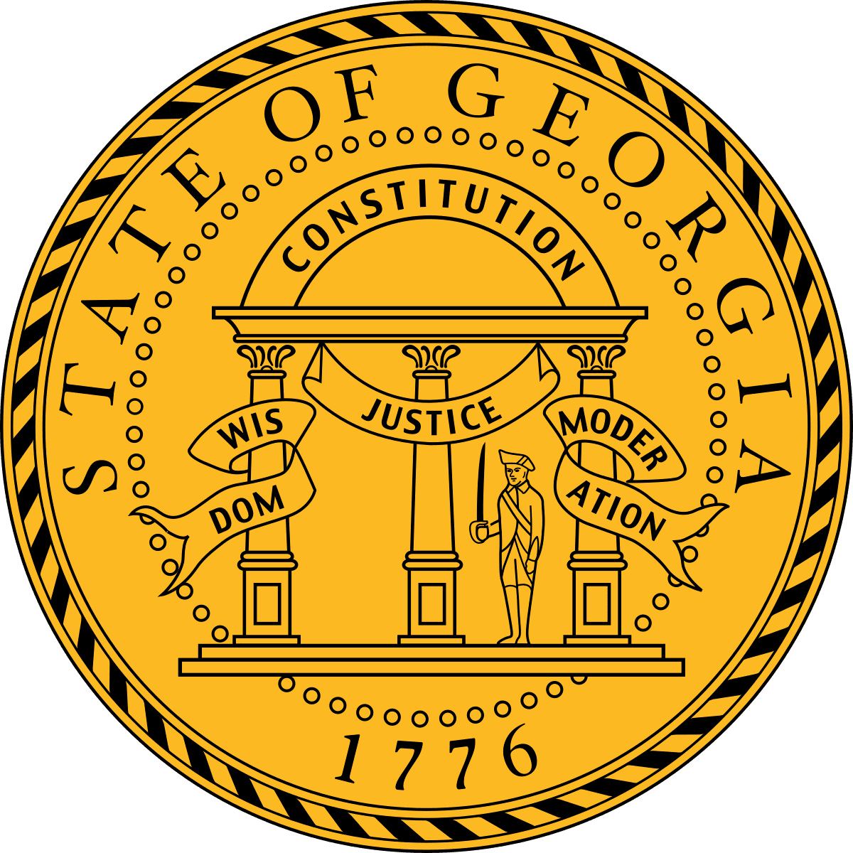 State Seal for Georgia